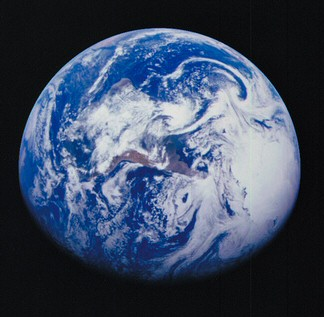 Earth Image by Galileo Spacecraft